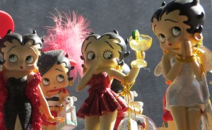 Betty Boop, oh, what a doll - 2012.  Photo by: Susan Marg