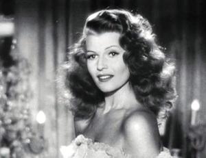 Rita as Gilda.