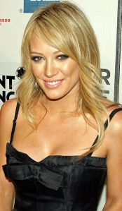 """I ate a bug once.  It was flying around me. I was trying to get it away. It went right in my mouth."" -- Hilary Duff (Photo by: David Shankbone)"