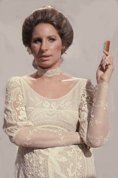 """I knew that with a mouth like mine, I just hadda be a star or something."" --Barbra Streisand (Photo by: Allan Warren)"