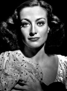 """My idea of a movie star is Joan Crawford, who can chew up two directors and three producers before lunch."" -- Shelley Winters (Photo of Joan Crawford by George Hurrell)"